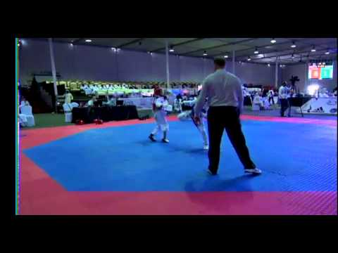 Fujairah Open International Taekwondo Day 1 Court 5
