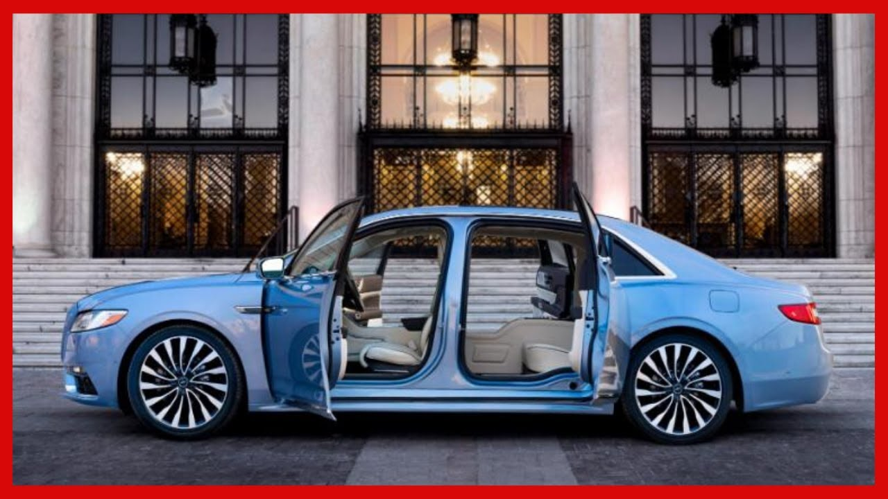 2021 The Lincoln Continental Redesign and Concept