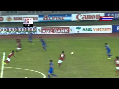 ไฮไลท์ ทีมชาติไทย 1--0 อินโดนีเซีย นัดชิงซีเกมส์ ครั้งที่ 27