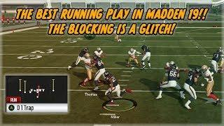 The Best Run Play in Madden 19!! This is Unfair! Madden 20 BETA Talk!!