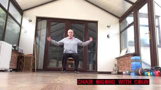 Qigong on the chair 01