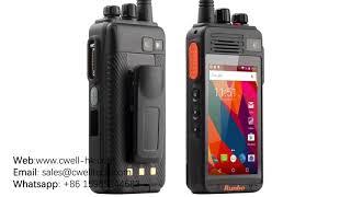 Runbo K1 UHF/VHF/DMR Walkie Talkie Smartphone