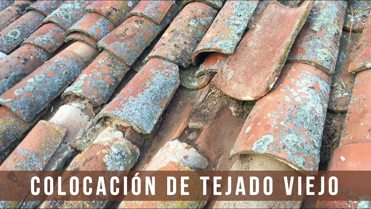 Colocación de tejado viejo