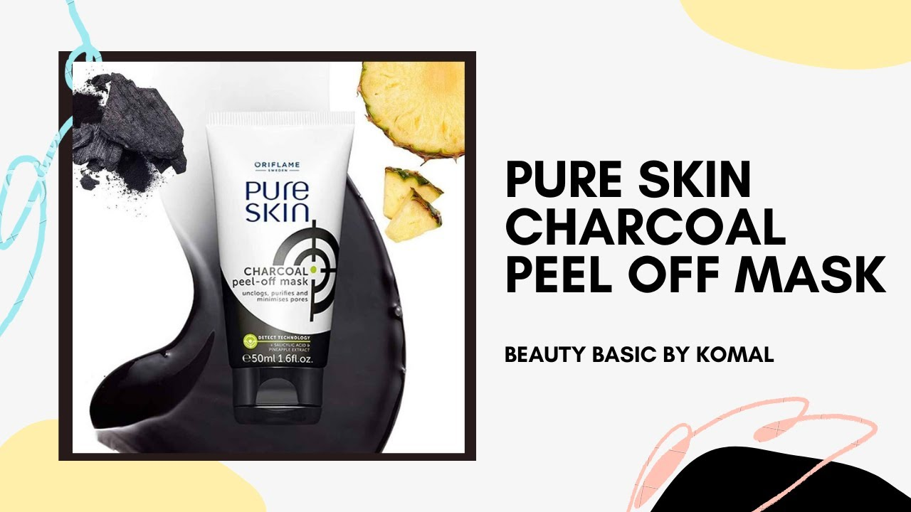 Pure Skin Charcoal Peel Off Mask 34872 Oriflame Product Beauty Product Ep2 Youtube
