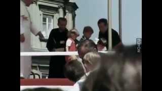 Jan Paweł II pierwszy raz w Polsce jako papież