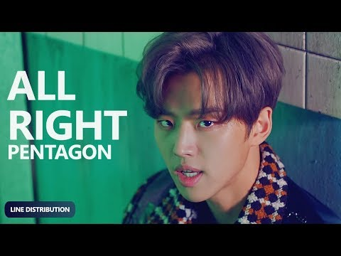 PENTAGON - All Right (Line Distribution) | TheSeverus