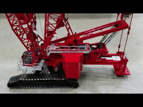 Quick look at the new Manitowoc MLC 650 1/50 scale model