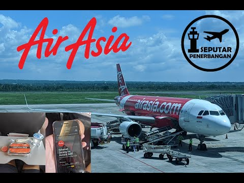 Indonesia Air Asia QZ610 Jakarta - Lombok   LCC GAK MURAHAN   Seputar Penerbangan Flight Review