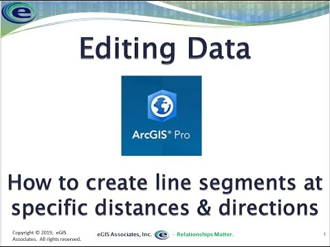 Editing Data in ArcGIS Pro – Using basic distance and