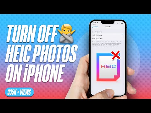 How to Stop iPhone from Taking Photos in HEIC/HEIF Format