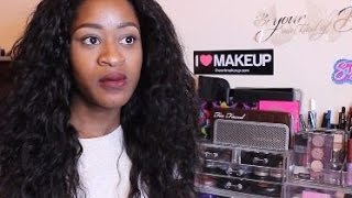 Aliexpress Hair Review  Gem Beauty Hair Brazilian Water Wave
