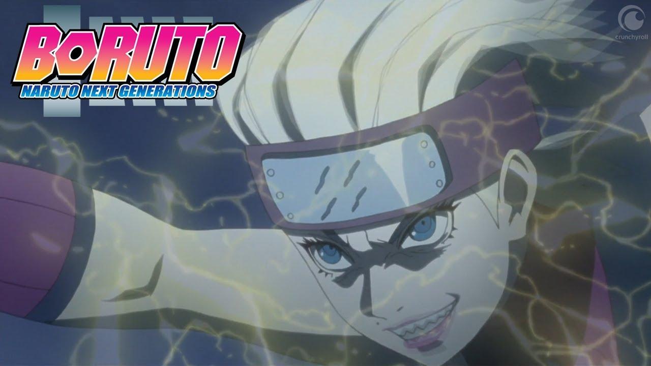 Sarada vs Buntan | Boruto: Naruto Next Generations