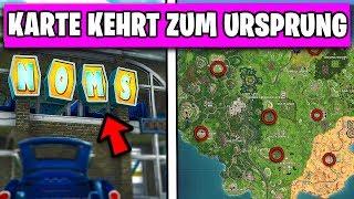 Map ENTWICKELT sich zu Season 3 ZURÜCK in Fortnite 😱 | Deutsch German
