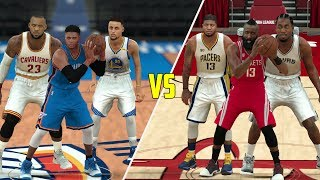 CAN A TEAM OF MVP PLAYERS BEAT A TEAM OF EVERY ONE ELSE? NBA 2K17 GAMEPLAY!