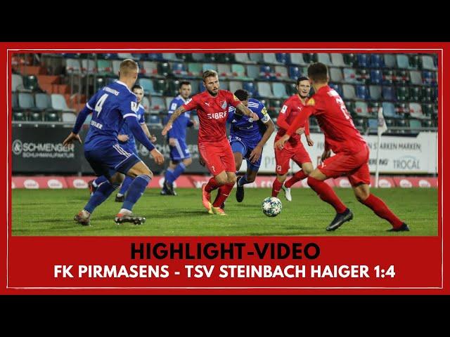 FK Pirmasens - TSV Steinbach Haiger 1:4 ( Regionalliga Südwest I #FKPTSV )