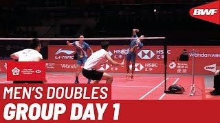 Group B | MD | LEE/WANG (TPE) vs. LU/YANG (TPE) | BWF 2019