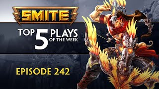 SMITE - Top 5 Plays - Episode 242