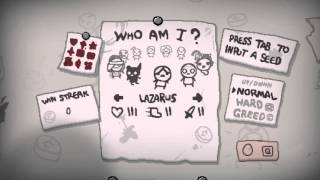 The binding of Isaac Afterbirth 1001% save file!