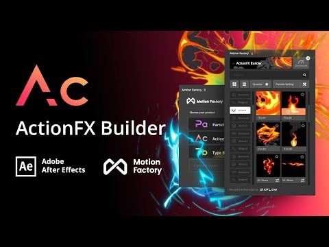 Free After Effects Cartoon FX Toolkit | ActionFx Builder | Motion factory