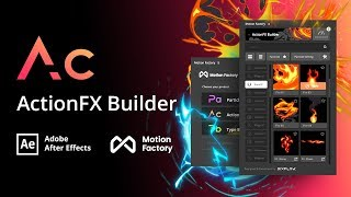 Free After Effects Cartoon FX Toolkit | ActionFx Builder | Motion-factory