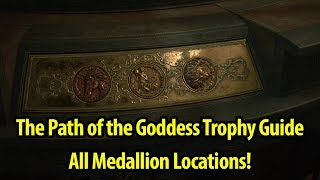 How to Get The Path of the Goddess Trophy / Achievement Guide - All Medallions - Resident Evil 2