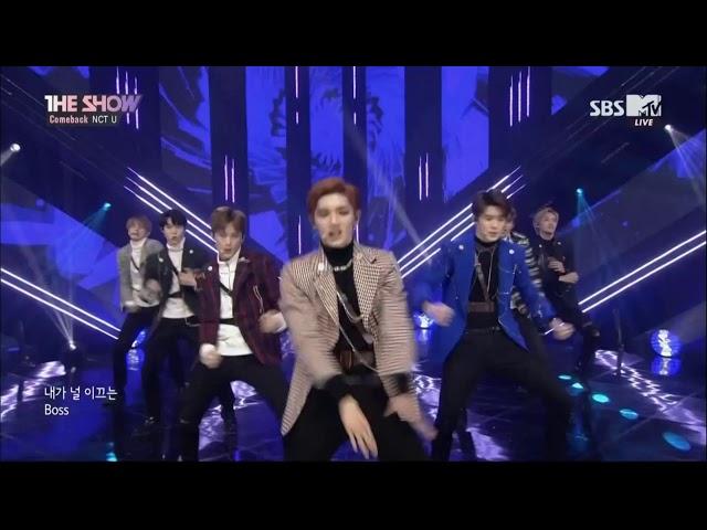 180306 NCT U 엔시티 유 -  BOSS @ SBS MTV The Show | 1080p 60fps
