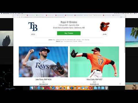 top-mlb-pick-tampa-bay-rays-vs-baltimore-orioles-4/24/18-tuesday-baseball