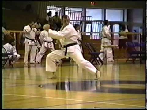 John Hughes Chinto Kata IWKA Championship 1992