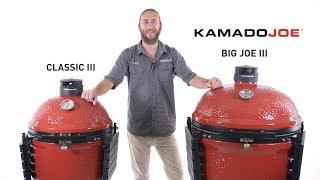 Kamado Joe Classic III & Big Joe III Review |  BBQGuys