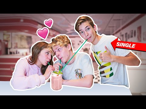 THIRD WHEELING MY BEST FRIEND AND HIS GIRLFRIEND **24 Hour Challenge** 💔| Sawyer Sharbino