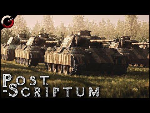 GREATEST TANK BATTLE! German SS PANZER DIVISION | Post Scriptum Gameplay