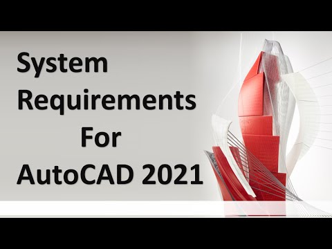 AutoCAD 2021 System Requirements || Requirement Of System For AutoCAD 2021 ||