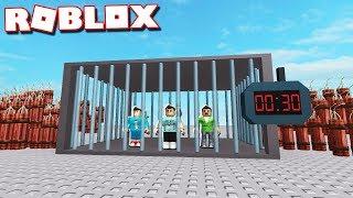 Roblox Adventures - ESCAPE IN 10 SECONDS OR DIE! (Roblox Escape Room Multiplayer)