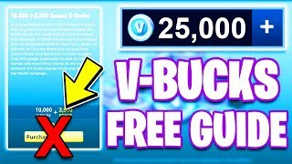 THREE WAYS TO GET FREE VBUCKS IN FORTNITE! *LEGIT!*