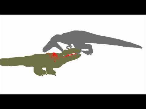 PBA: Megalania vs Nanotyrannus (request australianmegalania)