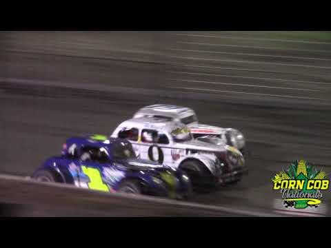 Buffalo River Race Park INEX Legends A-Main (9/16/17)