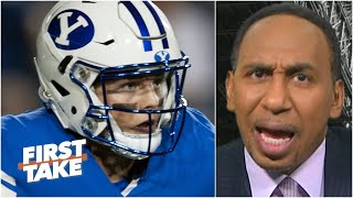 Stephen A. has concerns about Zach Wilson: 'No. 2 overall with that cupcake schedule?!' | First Take