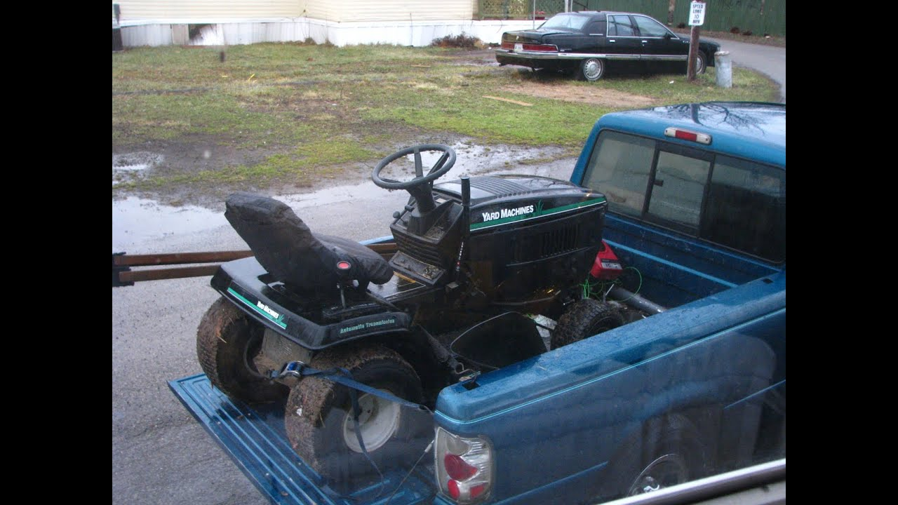 1997 yard machine mower