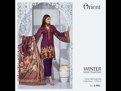 Orient Textiles Embrace New Collection 2018 Winter Fashion