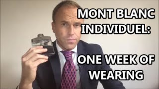 Mont Blanc Individuel fragrance review & week of wearing test (feat. FragBoy Stewie