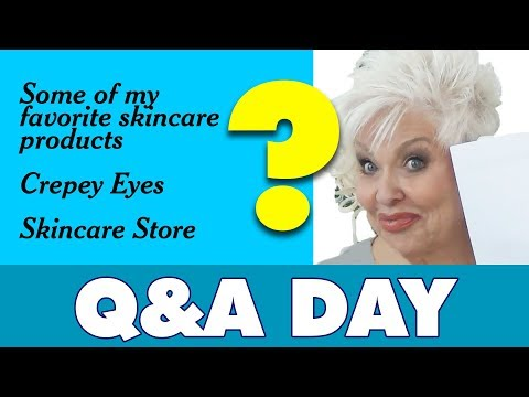 q&a:-favorite-products-/-crepey-eyes-/-skincare-store-/-beauty-50+