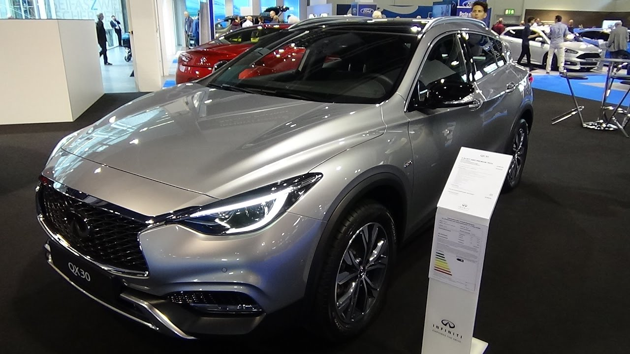 2017 Infiniti Qx 30 Awd Premium Tech Exterior And Interior Zürich Car Show 2016