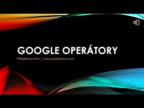 Google operátory