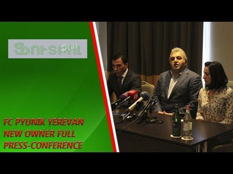 FC Pyunik Yerevan New Owner Press-conference