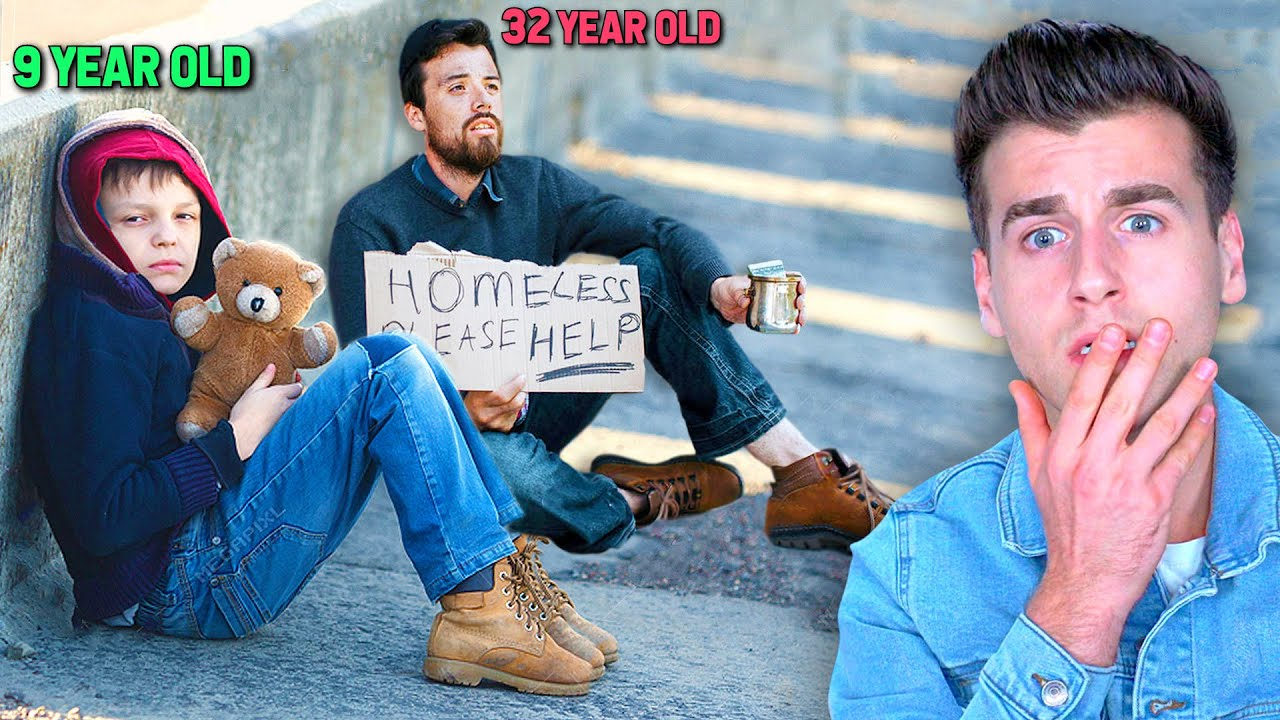The Homeless Man VS Homeless Child (Social Experiment)