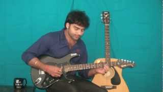 zara zara behekta hai from RHTDM on electric guitar by Lakshman :)