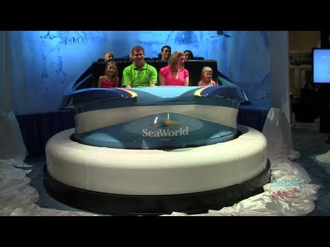 Antarctica: Empire of the Penguin ride vehicle unveiled by SeaWorld Orlando at IAAPA 2012