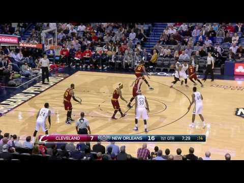 Cleveland Cavaliers vs New Orleans Pelicans | January 23, 2017 | NBA 2016-17 Season