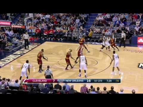 Cleveland Cavaliers vs New Orleans Pelicans | January 23, 2017 | NBA 2016-17 Season