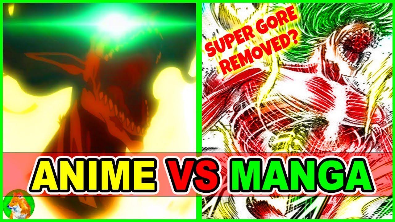 Attack on Eren Begins Anime Vs Manga AOT S4 | Attack on Titan Season 4 Episode 16